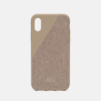 Clic Canvas iPhone X Beige